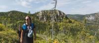 Hiking the optional Mont Du Four trail, Charlevoix | Tourisme Charlevoix, BESIDE