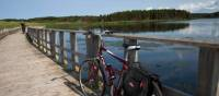 Cycling a series of pretty trail bridges to St. Peter's Bay | Guy Wilkinson