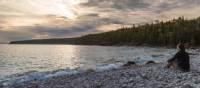 Cobblestone beach in Bruce Peninsula NP | Parks Canada