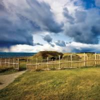 Viking settlement on the north end of Newfoundland   Barrett & MacKay Photo