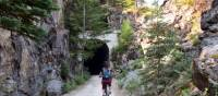 A sunny day in the Myra Canyon   Nathalie Gauthier