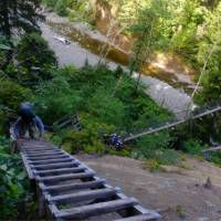 Logan Creek is particularly obstacle-course-like