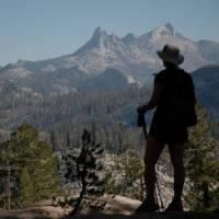 Hiking above the John Muir trail in California's High Sierra   Visit California/Michael Lanza