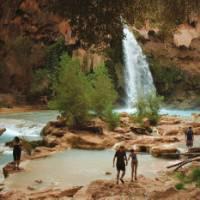 Havasupai Waterfalls   Sue Badyari