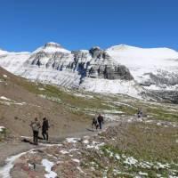 Hiking in Glacier National Park, Montana | ©VisittheUSA.com