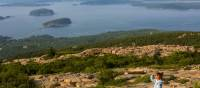 View from the top of Cadillac Mountain in Acadia National Park, Maine | ©VisittheUSA.com