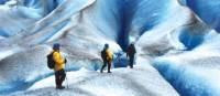 Trekking on Mendenhall Glacier, Alaska | Sue Badyari
