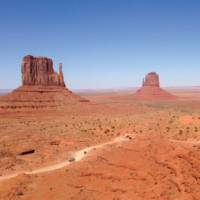 Sandstone buttes of Monument Valley at the Arizona-Utah state line   Nathaniel Wynne