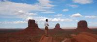 Enjoying the view in Monument Valley | Tanya Cross