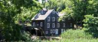 The historic Stony Brook Grist Mill, Long Island