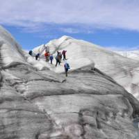 Exploring Root Glacier in Wrangell St Elias National Park | Amanda Mallon