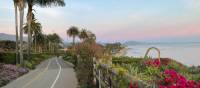 Oceanside cycling at Butterfly Beach, Santa Barbara, CA | Karna Hughes/Visit Santa Barbara