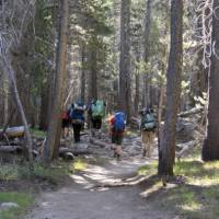 Setting off for a day on the John Muir Trail | Ken Harris
