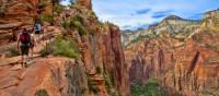 Hiking in Zion National Park, Utah | ©VisittheUSA.com