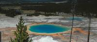 Multi-coloured geothermal pools in Yellowstone National Park | Sue Badyari