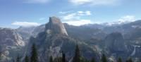 View to Half Dome, Yosemite National Park   Nathaniel Wynne