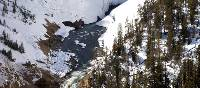Yellowstone National Park is stunning during the winter months