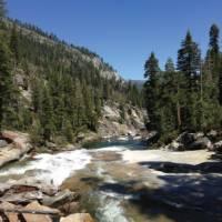Yosemite Hike, The Mist Trail to Nevada falls, USA | Nathaniel Wynne
