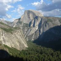 The imposing Half Dome in Yosemite National Park, California | Julie Anderson