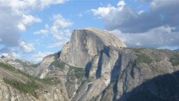 The imposing Half Dome in Yosemite National Park, California | Julie Anderson