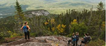 Views from Mount Morios, Charlevoix | Tourisme Charlevoix